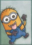Minion Sketch Card by angelacapel