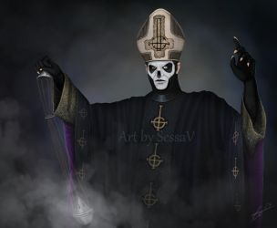 Ghost - Papa Emeritus III - 4 by SessaV