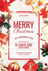 Merry Christmas Flyer by styleWish