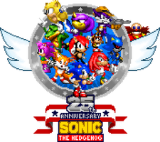 Sonic the Hedgehog 25th Anniversary by GamersFanMedia