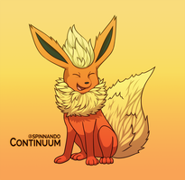 Flareon by spinnando