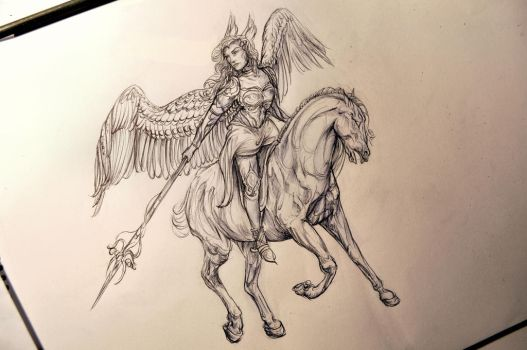 Valkyrie by Ironbluebell