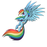The One, The Only, Rainbow Dash! by 14Dreamer
