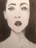 Charcoal practice by NicholeMariee