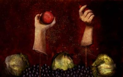 Still Life with Hands by tinabel