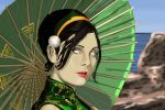 Toph, parasol day by Merides