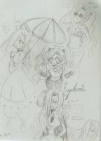 Sketches of Euphie by Baby-Blion
