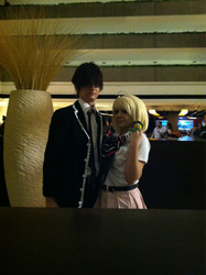 Yukio and Shiemi by Rainbowberryrain