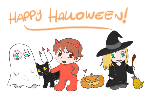 Happy Halloween by LovelyGioia