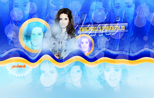 Demi Lovato Header by NeonLightsVisuals