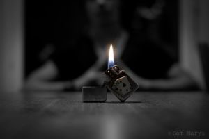 The Colored Flame. by Sam-Maryu