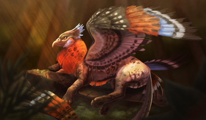 Gryphon by Aristall