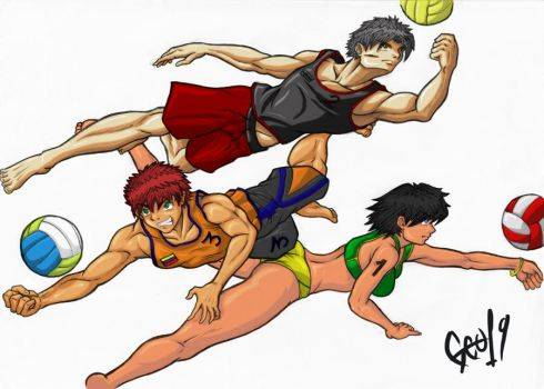 kid ball color 19 by georgeo19