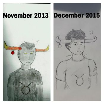 Christmas Tavros Comparison by narcissisticLoser