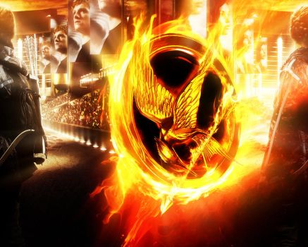 The Hunger Games. Katniss in the flame 3 by StalkerAE
