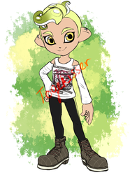 OPEN PAYPAL - Boy Octoling Adoptable by Togekisser