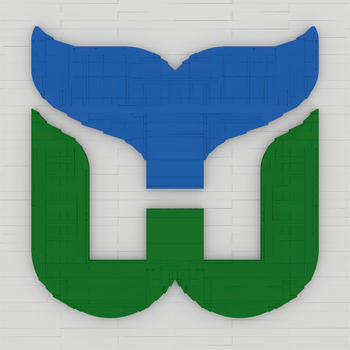 Hartford Whalers Logo by bricksnoir