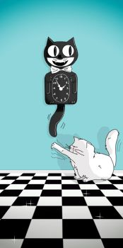 Vintage and cats by PattesDeVeloursAndCo