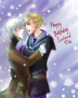APH Happy Birthday Iceland by MaryIL