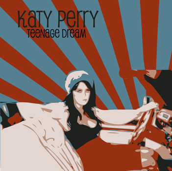 Katy Perry Deco Art by MiharuChobit