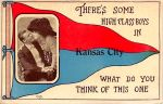 Vintage Missouri - There's High Class Boys in K.C. by Yesterdays-Paper