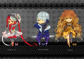 Butterfly Gijinka Auction Adoptables : { CLOSED } by ClockworkAdopt