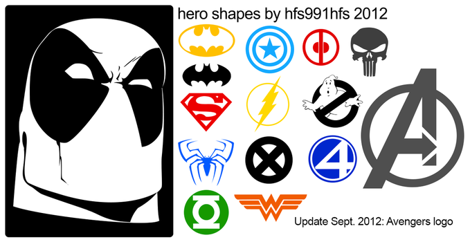 Hero Shapes by hfs991hfs