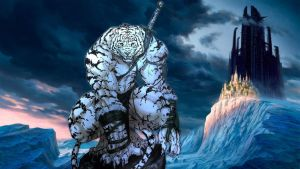 Siberian Tiger Anthro in Icy Landscape by Wolf-Soldier