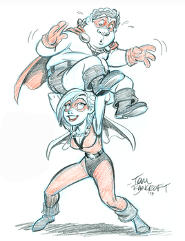 Animation Mag_Opposite Forces sketch by tombancroft