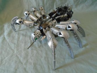 Aren't they official ? #46 Silver Chute Spider by vahki6