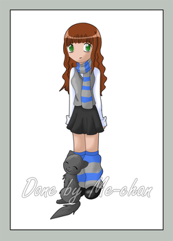 Ravenclaw Girl by me-chan