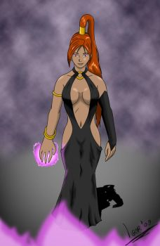 Sorceress Colored by GodNo1