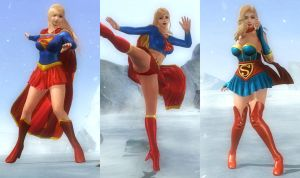 (RELEASE) SUPERGIRL PACK by huchi001