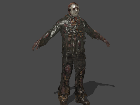 FRIDAY  THE 13th: THE GAME - JASON VOORHEES by Oo-FiL-oO