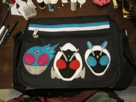 KR Fourze Bag by cozmictwinkie