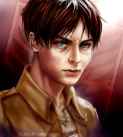 Eren Yaeger by Reiup