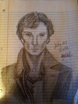 Benedict Cumberbatch  by TheIronLady4595