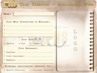 OPHS - Club Template by TenshiNoFuu