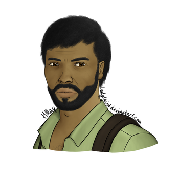 The Last of Us racebend - Joel by LadyLaird