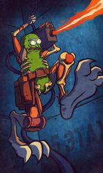Pickle Rick by He-st