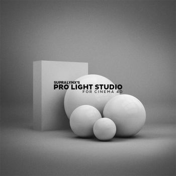 Cinema4D - Pro Light Studio by SUPRALYNX