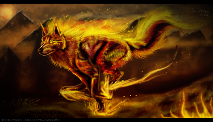 The Wild Fire by ArchShiranui