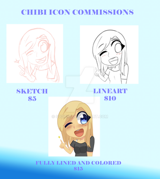 chibi icon commissions by suzie55