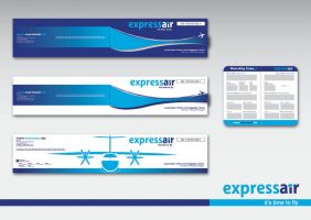 Express Air Ticket and BP by djac