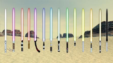 Texture Expansion for Light sabers by shaungsimpson