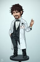 Dr. Psycho (Earth-27) commission by phil-cho
