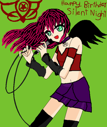 Happy Birthday Silent Night by DarkMary94
