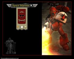 Space Marine by theOZmosis