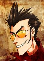 Travis Touchdown by zizzy