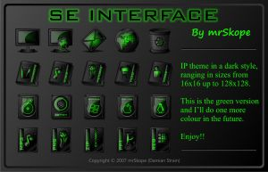 SE Interface Green by mrSkope